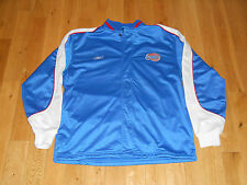 REEBOK LOS ANGELES CLIPPERS MENS WARM UP ZIP UP  JACKET JERSEY LG NBA GRIFFIN