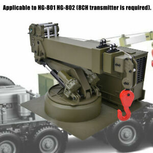 HG P803 1/12 Crane Lifting Arm Assembly for HG P802 RC US Army Military Truck