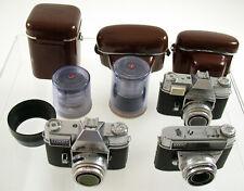 Posten KODAK Samlung collector as is Retina Reflex 28mm 35mm 200mm Automatic