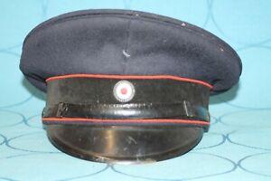 Schirmmütze Reichsbahn für Mannschaften um 1936