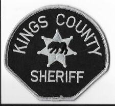 Kings County Sheriff's Office, California Subdued Shoulder Patch