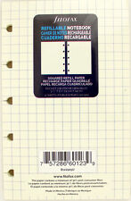 "Pack of 32 Filofax Pocket Size (3.5"" x 5.5"") Notebook Refills, Squared"