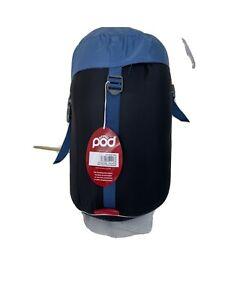 Pod Adult Sleeping Bag One Size (215 X 180cm) Season: 2-3