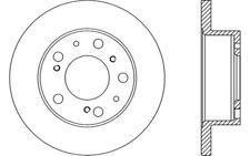 2x OPEN PARTS Discos de freno delanteros Pleno 256mm Para FIAT DUCATO BDA1136.10