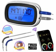 New listing Wireless Meat Thermometer with App Control Big Screen and 2 Useful Bonus .