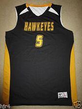 Iowa Hawkeyes #5 Basketball Practice Reversible Jersey LG L