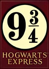 Harry Potter Hogwarts Express 9 3/4 Logo Image Refrigerator Magnet, NEW UNUSED