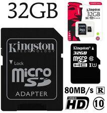 Kingston Sdcs/32gb Carte Micro SD Canvas Select 16gb Uhs-i Classe 10 Avec...