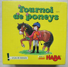 Tournoi de Poneys / Jeu de mémoire / Haba / De 2 à 4 joueurs À partir de 4 ans