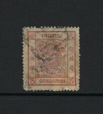 1883 Used Large 3Ca brown-red Dragon Stamp of Imperial China, SG 5, Cat £500