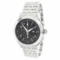 Ball Men's Watch Trainmaster Chronograph Black Dial Bracelet CM1010D-SJ-BK