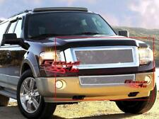 Fits 2007-2014 Ford Expedition Stainless Steel Mesh Grille Grill Insert Combo