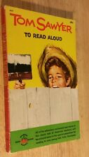 1961 Tom Sawyer To Read Aloud Mark Twain Wonder Books Vintage Paperback