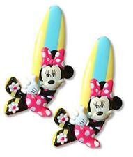 New Set of 2 Disney Minnie Mouse Boca Beach Towel Clips