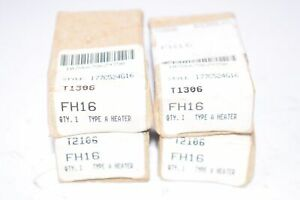 Lot of 4 NEW Cutler-Hammer FH16 Type A Heaters