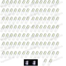 100x T10 5050 9-SMD LED White Light Bulb ERROR FREE License Plate Bulbs