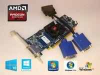 Windows 10 Dell Studio XPS 8000 8100 8300 8500 8700 Dual VGA Monitor Video Card