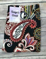 Paisley Leggings Multi Color Paisley Printed Soft ONE SIZE OS