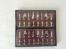 Manopoulos Poseidon Renaissance Theme Beautiful Chess Set. Made in Greece Athens