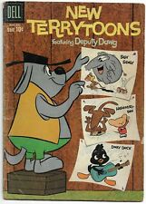 New Terrytoons #1 Dell Comics 1st Deputy Dawg and Dinky Duck (1960)