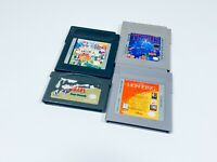 Lot of 4 Game Boy GameBoy Advance GBA Games - Zelda, Tetris, Gallery 3 Lion King
