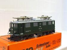 Bemo h0m 1250 125 e-Lok ge 4/4 605 Silvretta RHB embalaje original (mr2701)