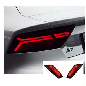 LED Tail Lights For Audi A7 2012-2017 Sequential Signal Red Replace OEM