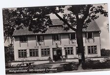 Markgrafenheide , HO Raststätte Forsthaus , Ansichtskarte