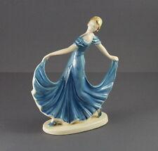Jugendstil Keramik Figur Tänzerin ~ 1910/1920   (# 2202)