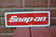 SNAP ON RACING TOOL SIGN Mechanic Body Shop Advertising Logo Racing Garage