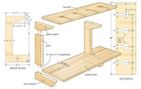 DIY 1000s Carpentry Woodwork 20gb 7 Dvds Schematic Diagrams Blueprints Pdfs Mp4s