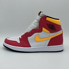 Nike Air Jordan 1 Retro High OG Light Fusion Red Sneaker 555088-603 NEU Herren