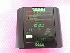 MURR ELEKTRONIK EVOLUTION 40   Art.No.: 85004  Power Supply 3 Phase 40A 24VDC