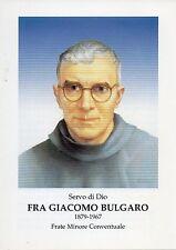315 Fra Giacomo Bulgaro Santino Holycard