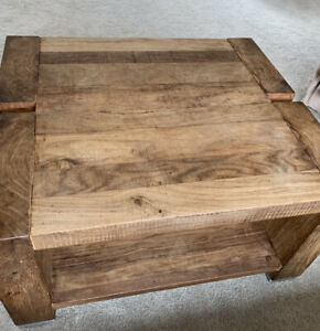 square coffee table Solid Wood