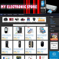 ELECTRONIC STORE - Established Affiliate Website For Sale FREE Domain & Hosting!
