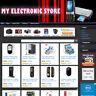 ELECTRONIC STORE - Established Affiliate Website For Sale FREE Domain & Hosting!