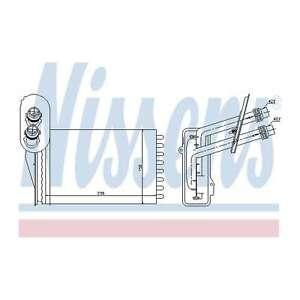 Fits Seat Leon 1M1 1.9 TDI Genuine Nissens Heat Exchanger Interior Heater Matrix