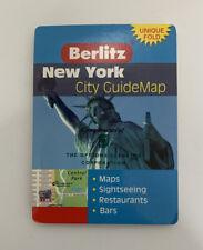 Berlitz New York Guidemap International City GuideMaps Sheet Map Folded Book