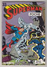 *** SUPERMAN Poche n° 33 *** 1980 - Sagedition DC // Q. NEUF