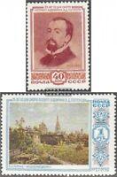 Sowjet-Union 1649-1650 (kompl.Ausg.) gestempelt 1952 Todestag von W. D. Polenow