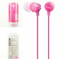 Sony MDR-EX15LP MDREX15LP In-Ear Buds Light Weight Earphones Headphones - Pink