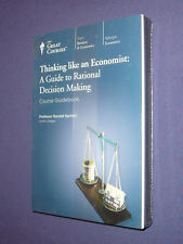 Teaching Co Great Courses  DVDs       THINKING LIKE AN ECONOMIST   new & sealed