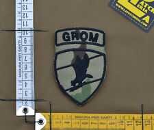 "Ricamata / Embroidered Patch ""Polish Grom Ins."" Multicam with VELCRO® brand hook"