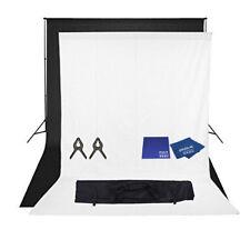 PhotR 3mx3m Stand 2x3mx6m Cotton Muslin Colour Backdrop Microfibre Chamois Cloth