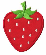 Ecusson badge patche FRAISE fruit fruits patch thermocollant