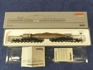 MÄRKLIN Art.Nr. 48291 Torpedopfannenwagen Dig. # 29   (T10)