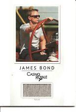 James Bond 007 Casino Royale Shirt Costume Trading Card #PR4 (#58 of 200)