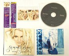 "Britney Spears CD ""Femme Fatale"" With Sticker Bonus Track Paper Sleeve Japan OBI"