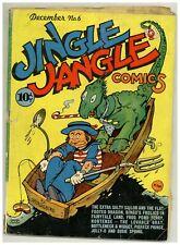 Jingle Jangle Comics #6 (Solid) funny animals Hitler Rat appears 1943 (j#2073)